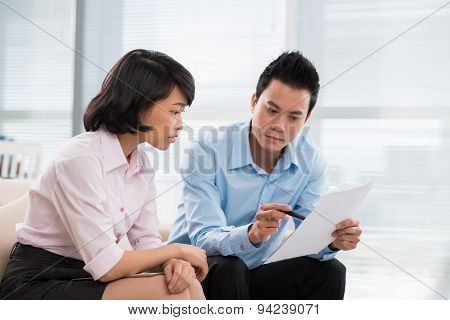 Discussing A Document