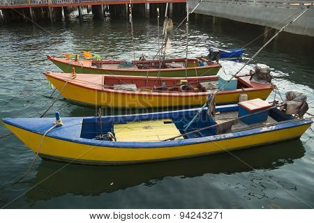 Thai Fish Boats