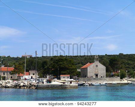 The Croatian island Premuda in the Mediterranean