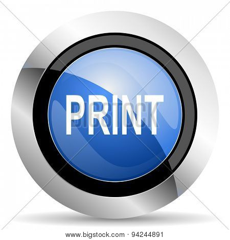 print icon original modern design for web and mobile app on white background