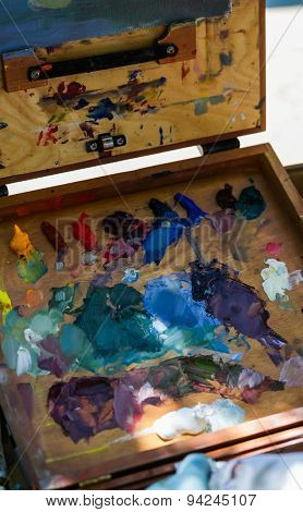 Paint Mixing Board