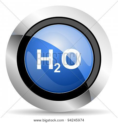 water icon h2o sign original modern design for web and mobile app on white background