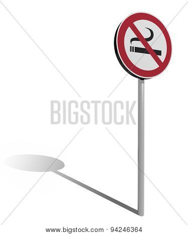 Traffic Sign No Smoking