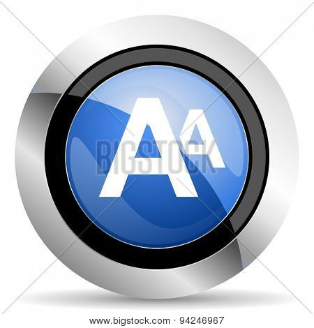 alphabet icon original modern design for web and mobile app on white background