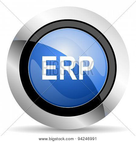 erp icon original modern design for web and mobile app on white background