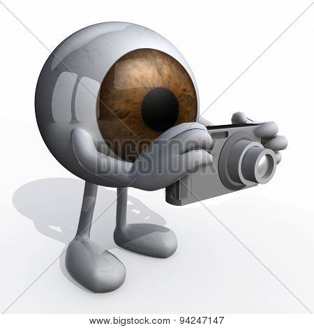 Big Brown Eye Photographer