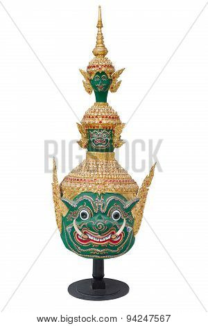 Nakhonratchasima, Thailand - April 8, 2015 : Traditional Ancient