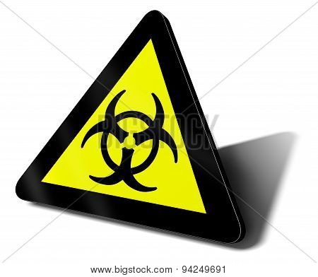Warning Sign Bio Hazard Danger