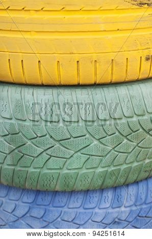 Painted Tyres
