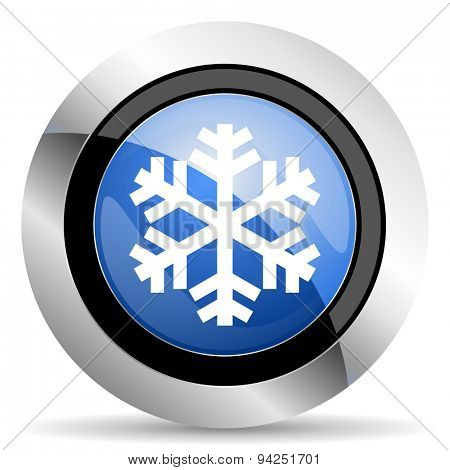 snow icon air conditioning sign  original modern design for web and mobile app on white background