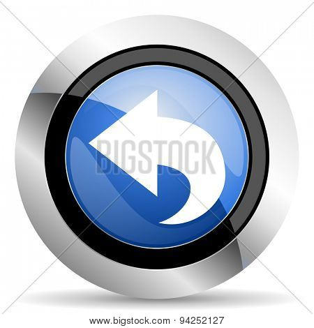 back icon arrow sign original modern design for web and mobile app on white background