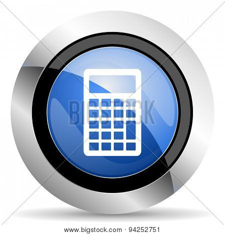 calculator icon  original modern design for web and mobile app on white background