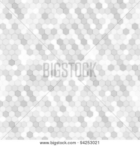 Vector abstract 3d hexagonal.