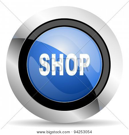 shop icon  original modern design for web and mobile app on white background