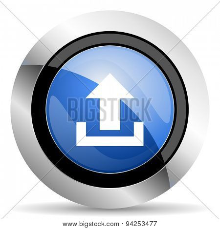 upload icon  original modern design for web and mobile app on white background