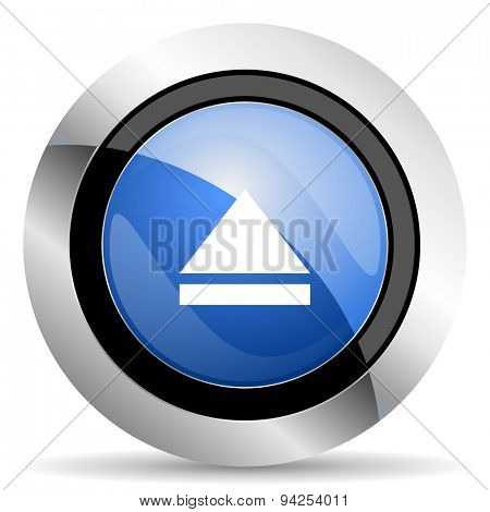 eject icon open sign original modern design for web and mobile app on white background