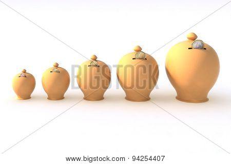 Five Money Box