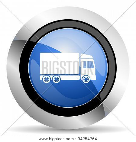 delivery icon truck sign original modern design for web and mobile app on white background