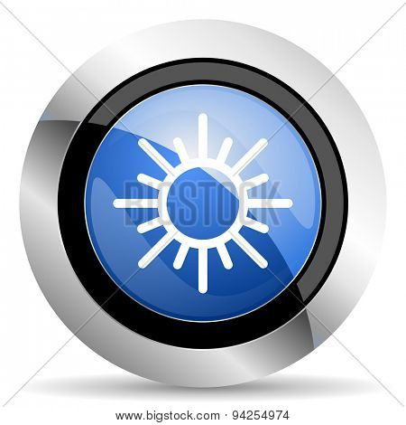 sun icon waether forecast sign original modern design for web and mobile app on white background