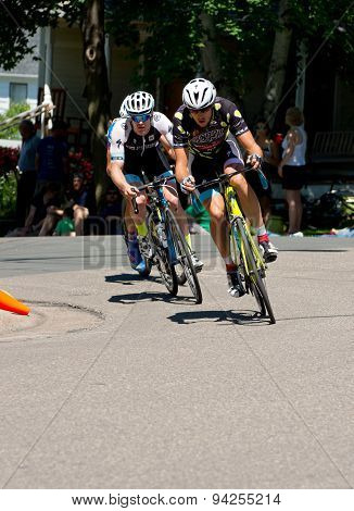 Girkins Leads At Stillwater Criterium