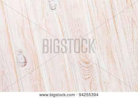 White wooden plank texture background