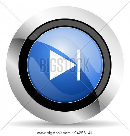 next icon  original modern design for web and mobile app on white background
