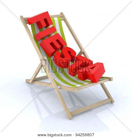 Beach Chair With