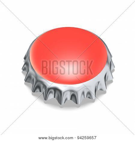 Red Metal Cap