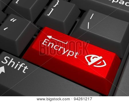 Encrypt Key On Keyboard