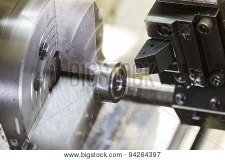 Turning Automotive Part By Cnc Lathe