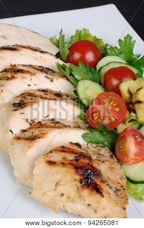 Slices Of Chicken Fillet