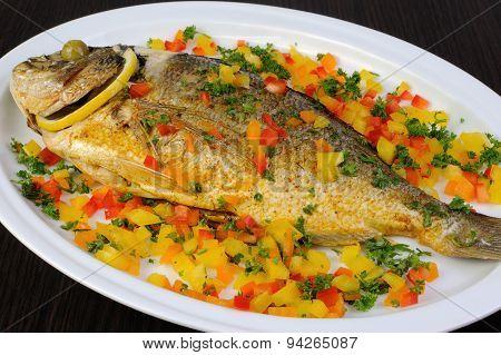 Baked Fish Dorado