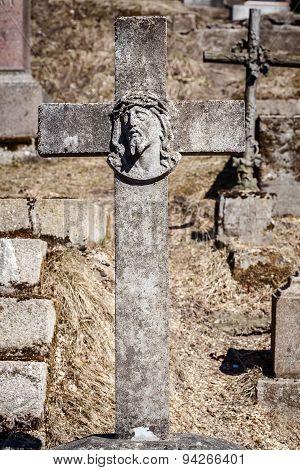 Old Concrete Cross