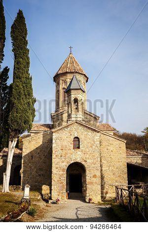 Ikalto Monastery In Kakheti Region, Georgia