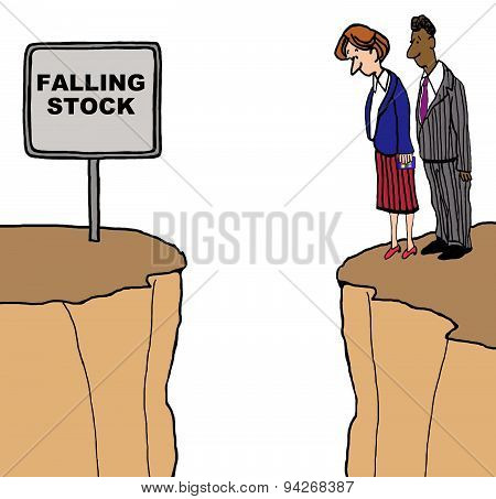 Falling Stock