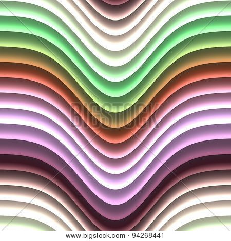 Color Waves Generated Seamless Texture