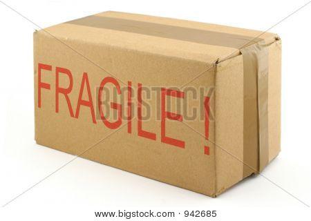 Fragile Cardboard Box 2