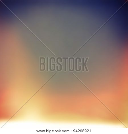 abstract blurry unfocused background