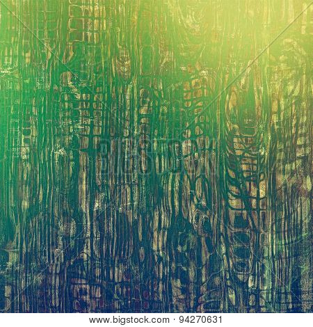 Grunge texture, may be used as retro-style background. With different color patterns: yellow (beige); brown; blue; green