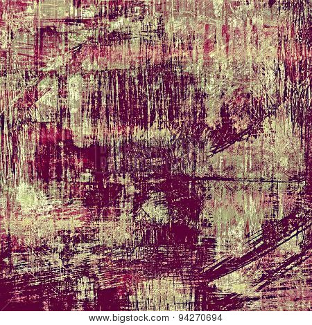 Grunge texture, may be used as retro-style background. With different color patterns: brown; gray; purple (violet); pink