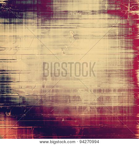 Vintage texture with space for text or image. With different color patterns: brown; gray; purple (violet); pink