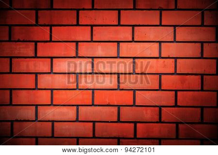 abstract background wit red brickwork