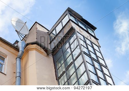 External Lift Shaft Upper Part