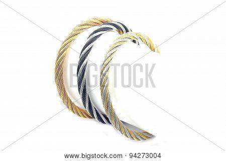 Beautiful ladies bracelets, stainless steel