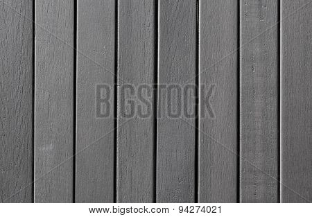 Matte Grey Wooden Wall And Floor