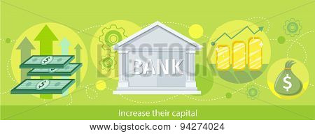 Web Banner of the Bank as Traditional Investor
