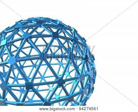 Internet Network Modern 3D Background