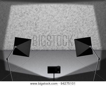 Fotograph Background Illustration For Product Presentation