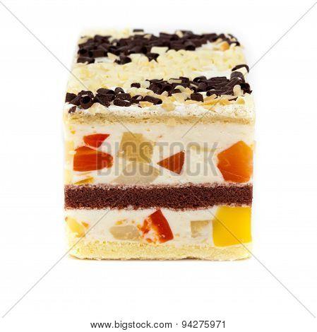 Fruit yogurt cheesecake