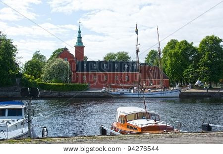 Small Motorboats Nissan River Halmstad Sweden.